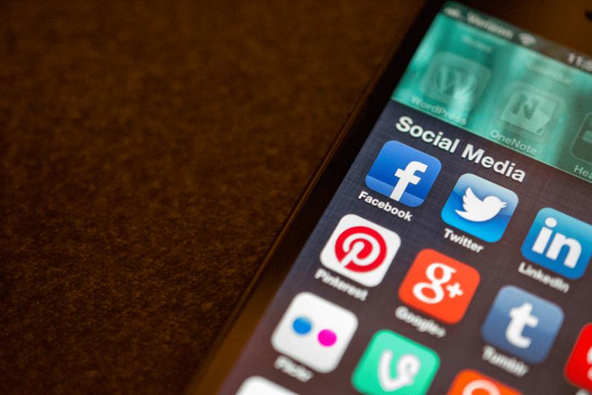 adams crossing's social media profiles