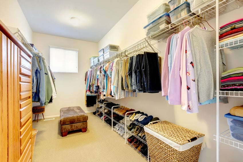 Apartments with Walk-In Closets Offer More than Just Extra Storage