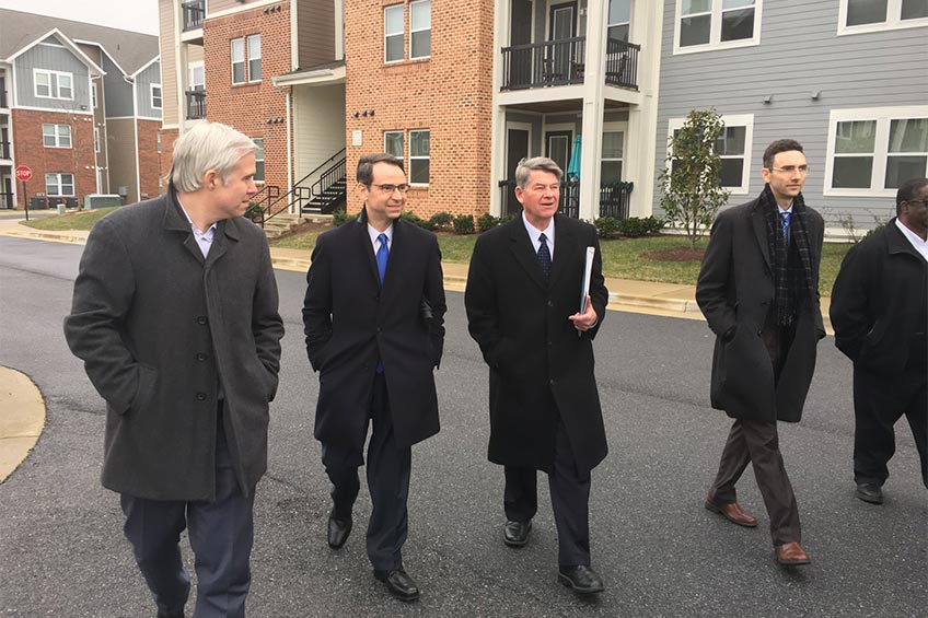 department of housing and community development tours adams crossing