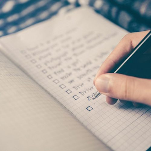 Oct. 30th Is National Checklist Day: Making Checklists Can Help You Get More Things Done!