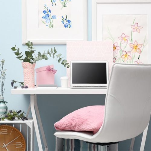How to Make a Closet Office Work!