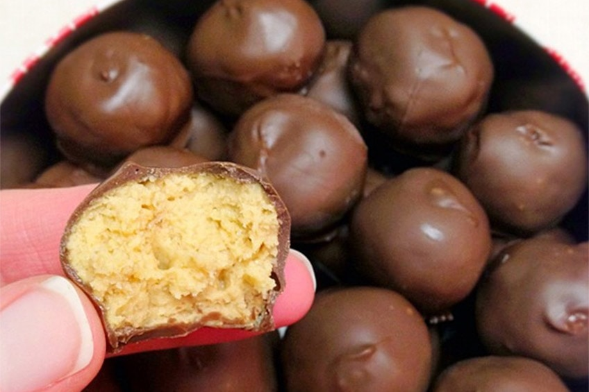 peanut butter balls for national peanut day