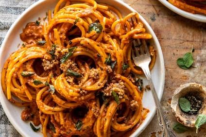 red pepper alla vodka pasta