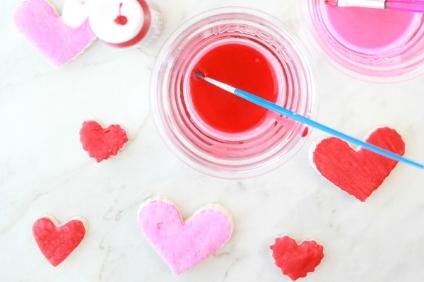 salt dough hearts valentines day craft