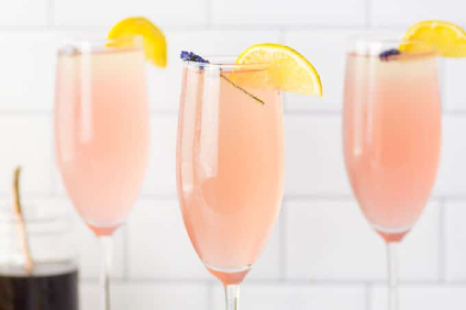 lavender lemonade mimosa